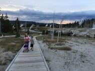 Hiking to Castle Geyser