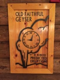 Old Faithful prediction