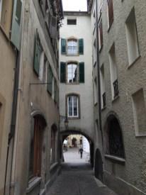 Rue des Châteaux in Sion
