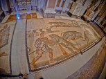 Mosaic in Borghese Gallery - Rome, Italy