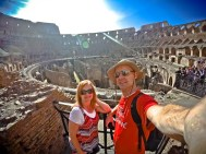 Wendy and Justin at The Colosseum