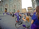 Photo in front of Il Duomo in Florence