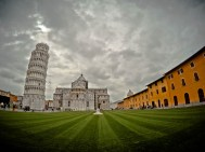 Pisa - Cathedral Square and the leaning tower