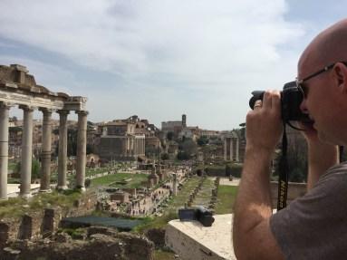 Turista at Roman Forum
