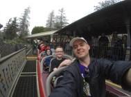 The little guy was happy to start Matterhorn - it didn't last.