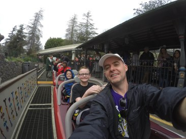The little guy was happy to start Matterhorn - it didn't last.