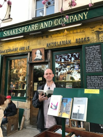 Shakespeare and Company - across from Notre Dame