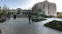 Paris Temple courtyard