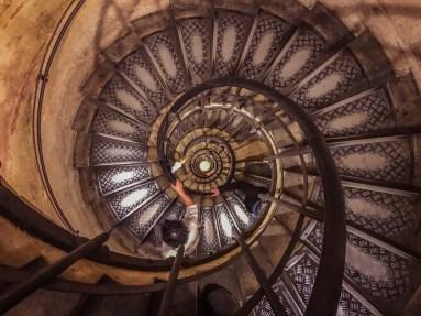 Staircase - Arc de Triomphe