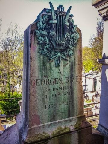 Bizet's grave - Pere Lachaise