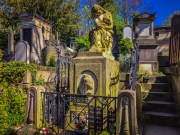 Chopin's grave - Pere Lachaise