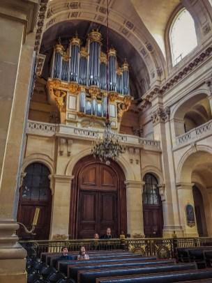Organ in Les Invalides