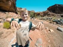 Muddy hands - Sulphur Creek