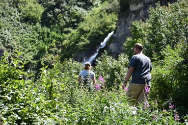 Hike to Stewart Falls