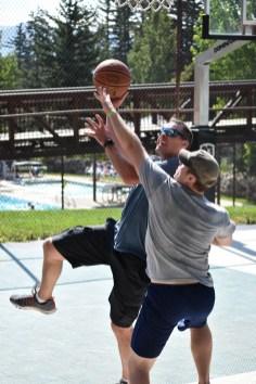 3-on-3 basketball