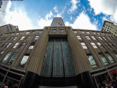 Empire State Building - GoPro fisheye lens