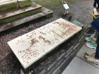 Eliza Schuyler Hamilton's grave - Trinity Church, NYC