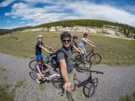 Yellowstone bike ride
