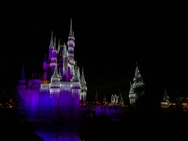 Magic Kingdom lights