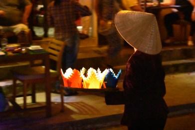Selling lanterns
