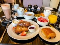 Breakfast in Windsor.