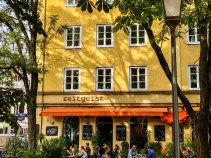 zeitgeist cafe in Munich