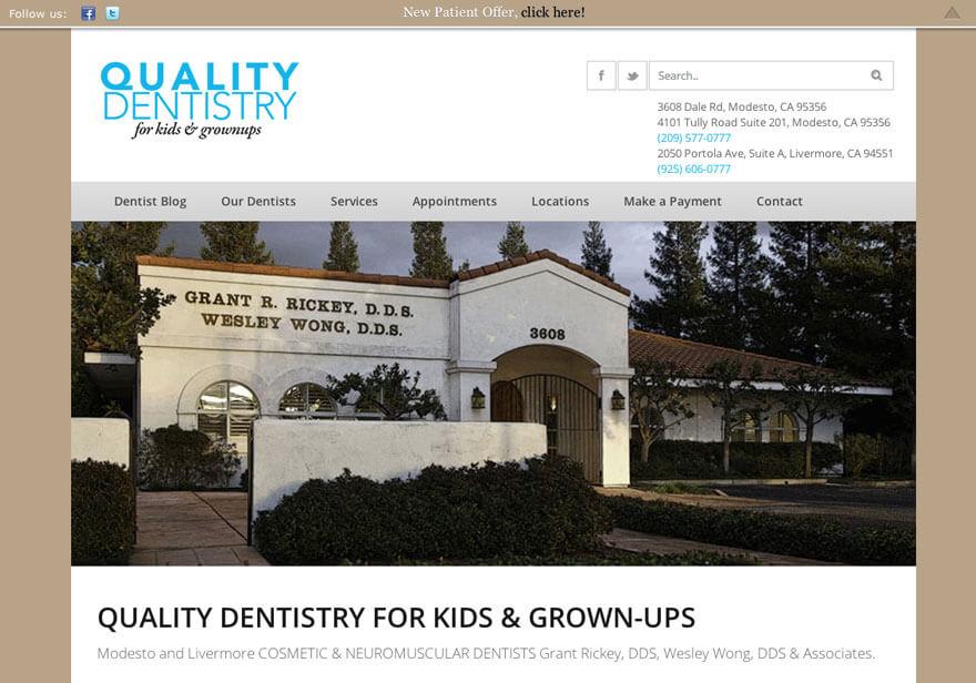 QualityDentists – Modesto Dentist Office
