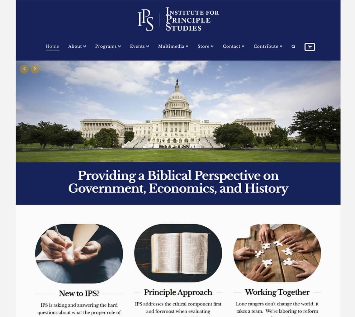 The Institute For Principle Studies