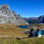 多洛米蒂高山湖泊