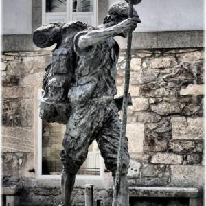 朝聖者的雕像