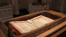 Memorial Chamber, First World War Book of Remembrance, Parliament Hill