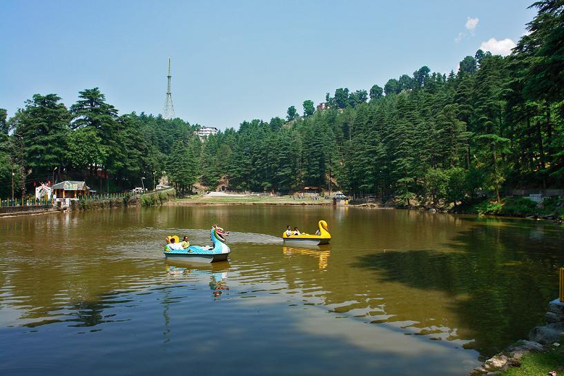 Dal lake, Dharamsala