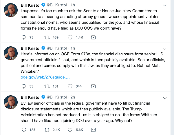 Bill Kristol tweets