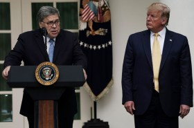 Bill Barr rejects Trumped up charges