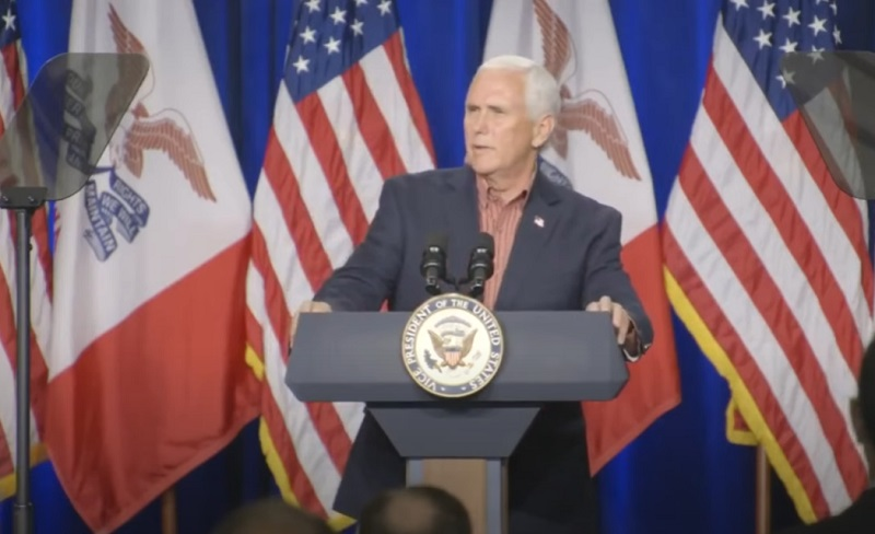 Mike Pence Says He has red meat