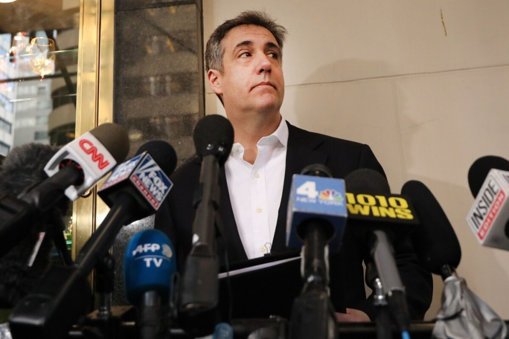 "Michael Cohen says Donald Trump called 15yo ""piece of ass"""