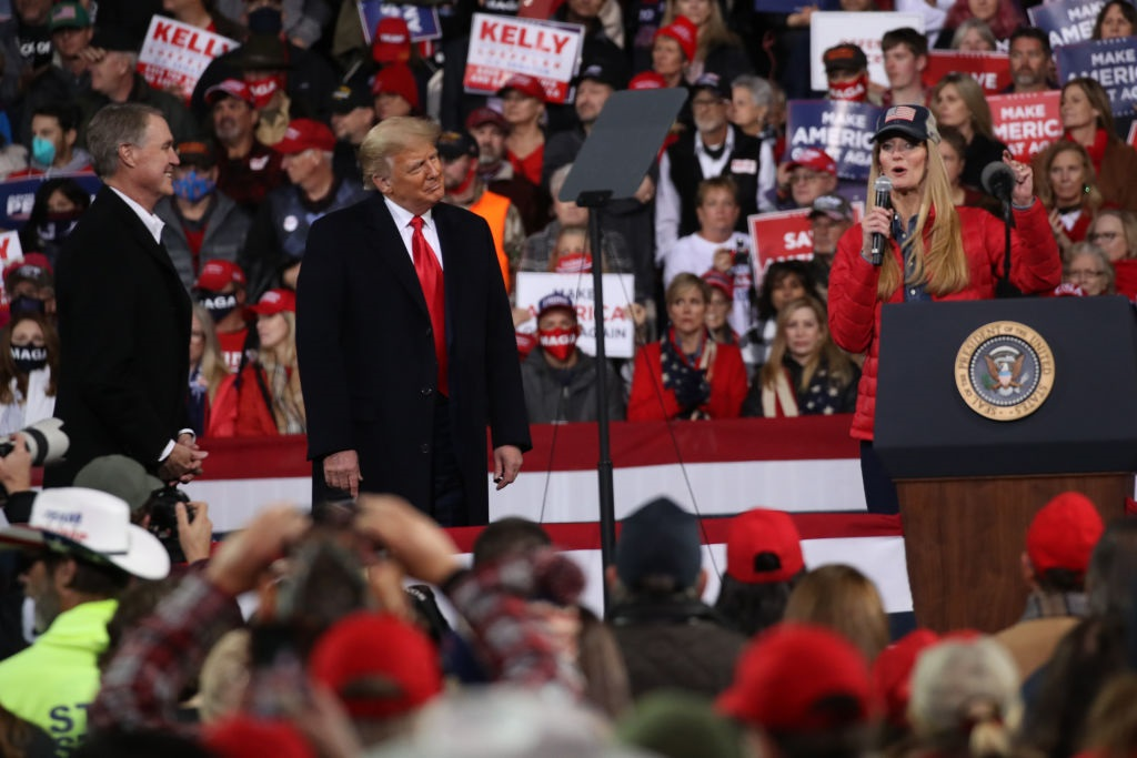 Loeffler and Purdue campaigns suffer for Trump
