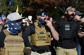 Proud Boys left out in the cold -- DC hotel closes to keep them out