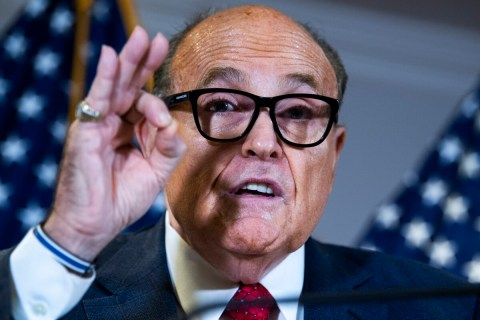 Biden would lose if Trump was given his votes, Rudy argues
