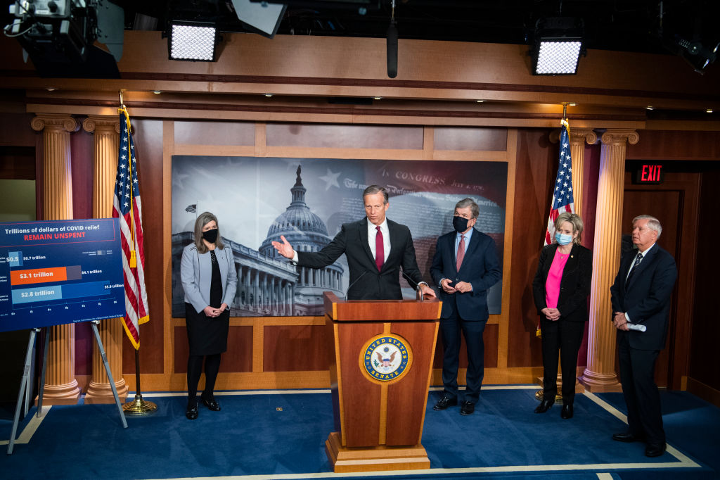 Republicans fight to prevent COVID relief from passing