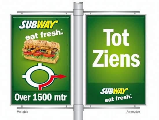 Toch reclameborden op Heuvelrug