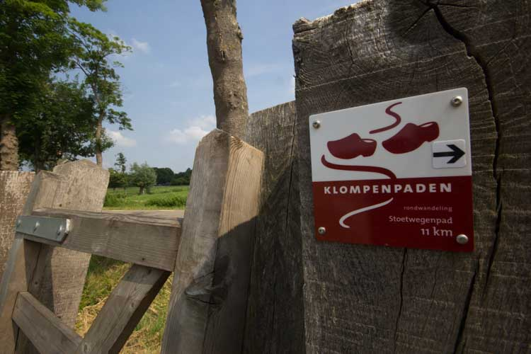Stoetwegenpad markeert duizendste klompenpadkilometer