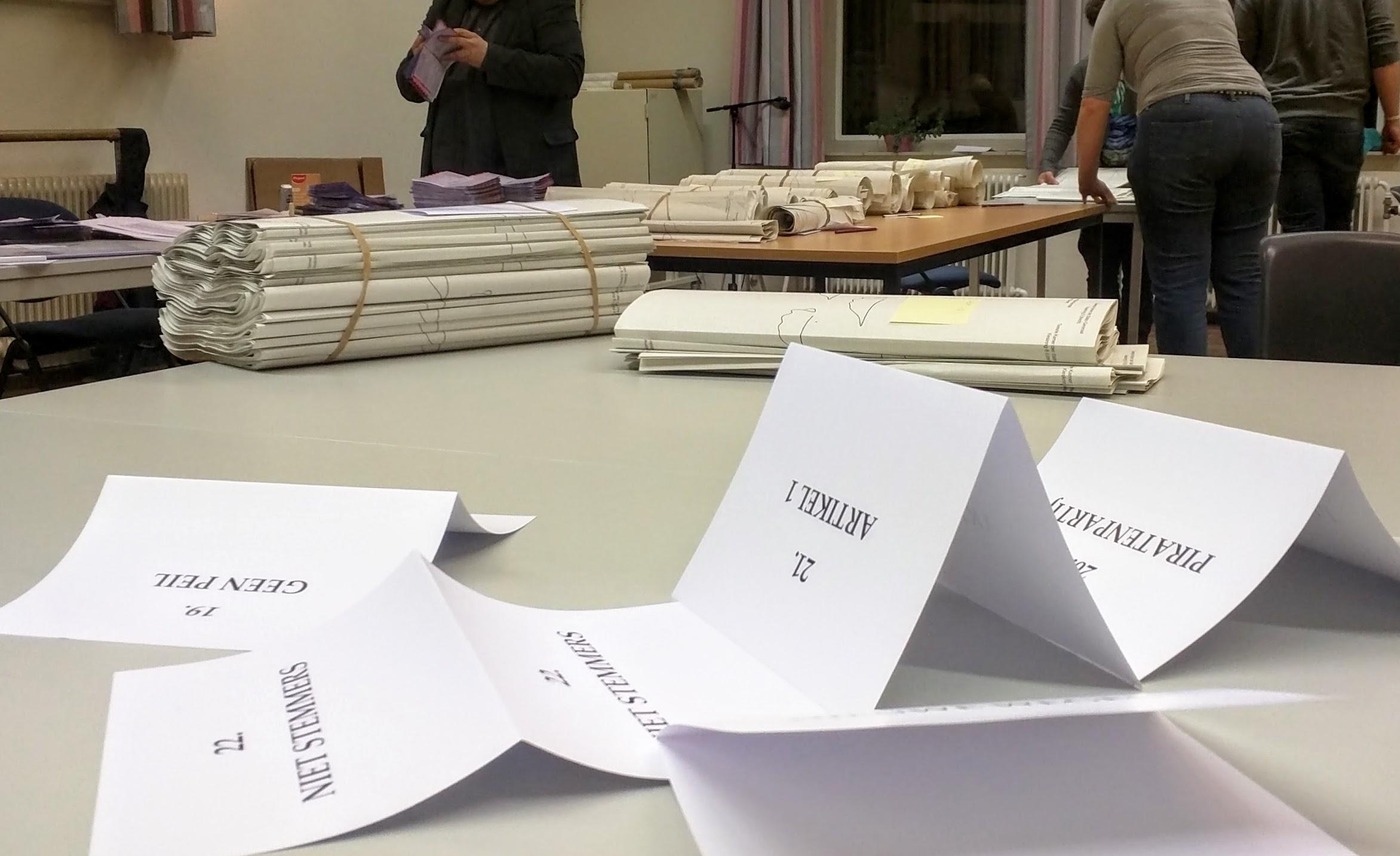 Over stemmen tellen, twee verzoeken aan kiezers en hoe Pia de spookstem kreeg toebedeeld