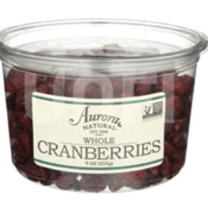 CRANBERRIES, DRIED, AURORA