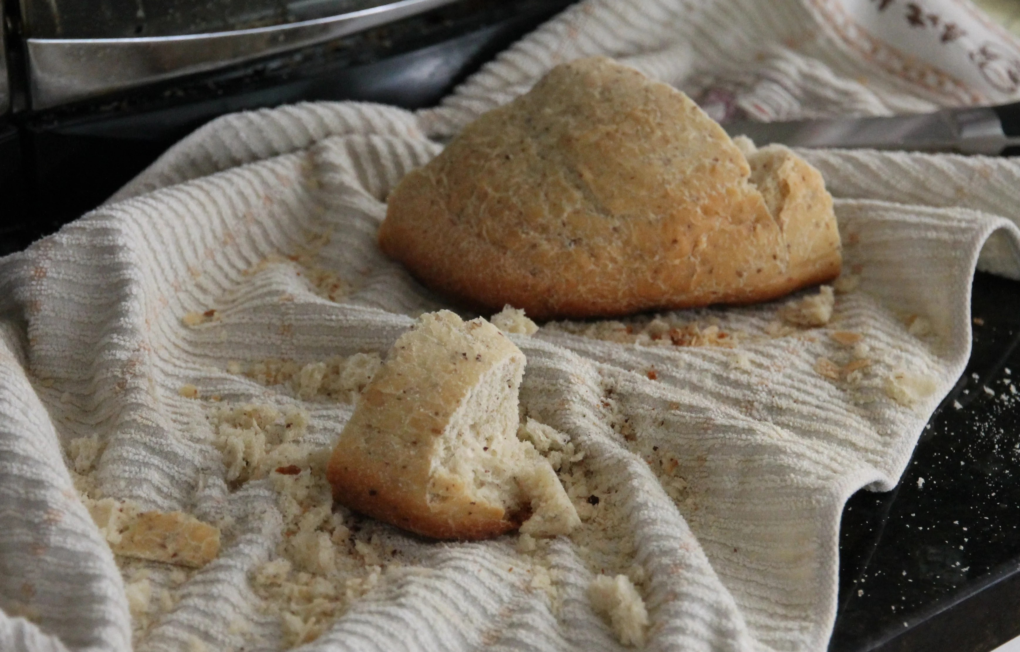 Make Homemade Italian Breadcrumbs out of Stale Bread