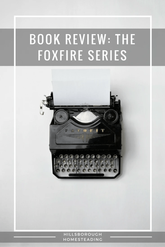 Book Review- The foxfire Series