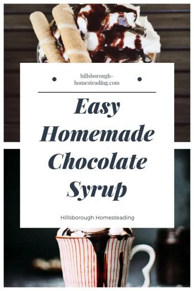easy homemade chocolate syrup