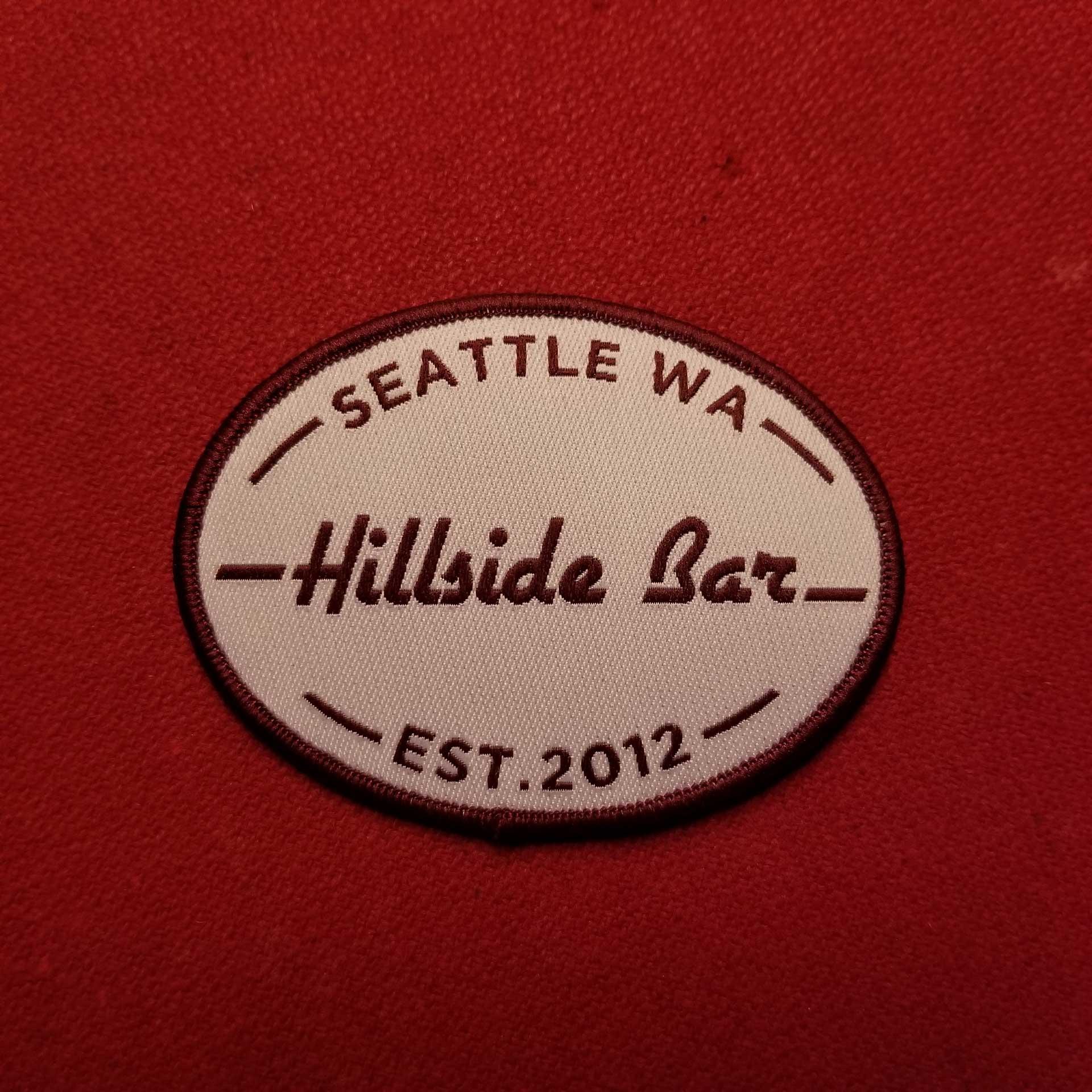Hillside Patch Red