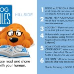 Dog Rules Hillside