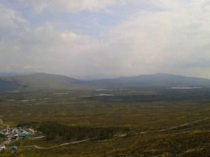 Looking across Rannoch Moor